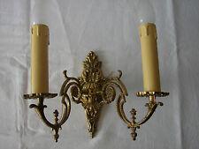 ältere  Wandlampe Florentiner Art  gold Wandleuchte Vintage Shabby chic