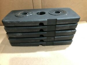 (5 PK BODY-SOLID 50LB SELECTORIZED WEIGHT STACK UPGRADE(5 PLATES 10 POUNDS EACH)