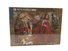 NEW Heye 3000 Piece Jigsaw Puzzle, Red, Forgotten series by Cris Ortega, #29272