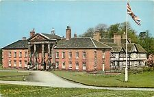 s05908 South Front, Adlington Hall, Cheshire, England postcard unposted