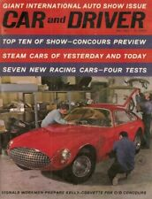 CAR & DRIVER 1962 MAY - MILLERS, NEW RACE CARS, JAG X