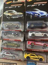 2016 hot wheels camaro fifty series Complete Set Of 8 Camaro 50th Anniversary