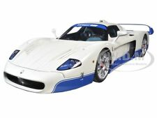 "MASERATI MC12 ROAD CAR WHITE ""PRESENTATION CAR"" 1/18 BY AUTOART 75801"