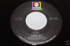 Tommy Roe Pearl b/w Dollars Worth Of Pennies 45 From Co Vault Unopen Box NM *
