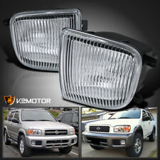 For 99-04 Nissan Pathfinder Clear Lens Driving Bumper Fog Lights+Switch