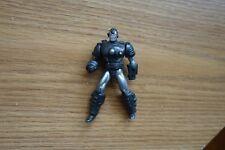 Marvel Die Cast Poseable SILVER SUIT IRONMAN action figure loose miniature