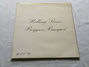 THE ROLLING STONES - BEGGARS BANQUET (UK RELEASE - LAMINATED GATEFOLD SLEEVE)