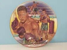 "1990 SPORTS IMPRESSIONS JOE LOUIS BROWN BOMBER BOXING 10"" DECORATIVE PLATE EUC"