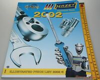 FreeShip 2002 Hazet Tool Catalogue 170 pages of bliss & dreams Vintage tools
