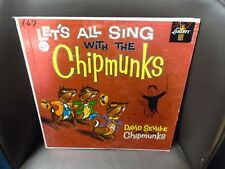 David Seville Let's All Sing With the Chipmunks LP Liberty VG+