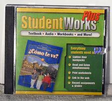 Glencoe Middle School Spanish : Cómo Te Va ? Student Works Plus CD Blue