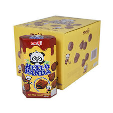 HELLO PANDA CHOCO BISCUITS WITH CHOCOLATE FLAVOUR FILLING - 10 X 50G