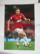 Manchester United 2012-2013 Signed Nick Powell Football Photo with COA  /bi