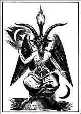 Baphomet ++ POSTER, DIN-A1 ++ Inquisition, Shining, Absu, Satan ++ NEU !!