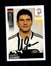 Mario Gomez Panini Sammelbild Euro 2008 Original Signiert+ A 136058