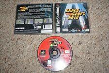 Grand Theft Auto 1 Gta (Sony Playstation 1 ps1) Complete Original Black Label
