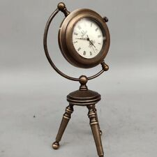 European style Exquisite Brass Classical Mechanical  A-frame Clock