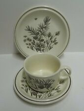 W H Grindley Pinewood Trio- Cup,Saucer & Tea Plate