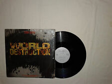 "Time Zone ‎– World Destruction - Disco 12"" MAXI 33 Giri Vinile USA 1984 Electro"