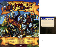 """DEFENDER OF THE CROWN : floppy disc 3,5"""" Commodore Amiga backup game disk (READ)"""