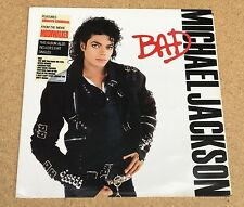 MICHAEL JACKSON Bad 1987 vinyl LP Record  Excellent Condition   B original