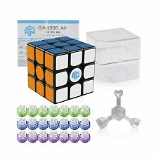 Coogam Gan 356 Air Master Speed Cube 3x3 Black Gans 356 Air Puzzle Cube New Blue