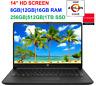 "2020 HP 14"" Laptop AMD Athlon 3050U(>i5-7200U) to 3.2GHz, upto 16GB RAM &1TB SSD"