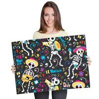 Day of the Dead Mary Sugar Skull by Manuel Valenzuela Tattoo Fine Art Print