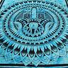 COUVRE-LIT COUVERTURE Fatima Main Tissu Déco Tapisserie Décoration murale Batik