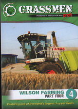 Tractor Farming DVD: GRASSMEN - Wilson Farming Part Four