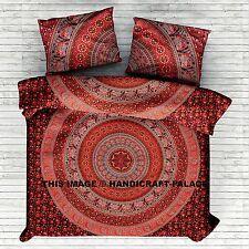 Indian Cotton Duvet Doona Cover Cover Queen Size Hippie Blanket Cover Quilt Set