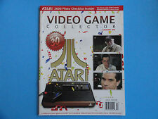 VIDEO GAME COLLECTOR MAGAZINE - ATARI - ISSUE # 10 SUMMER 2008 - NEW