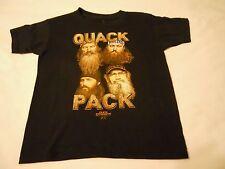 Boys Tee Shirt Sz XS 4/5 Duck Dynasty Black Quack Pack