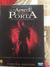 NON APRITE QUELLA PORTA (2003) LIMITED EDITION 2 DVD DIGIPACK RARO