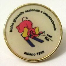 Pin Spilla FISN Fed. Italiana Sci Nautico Trofeo Giovanile Naz. e Internaz. MI