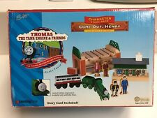 1998 Come Out Sad Face Henry Set Knapford Express Coach Thomas Train Wooden