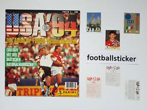 WM 1994, 10 Sticker stickers Panini World Cup 94 USA Amerika football