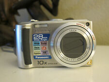 Panasonic LUMIX DMC-TZ4 8.1MP Digital Camera - Silver
