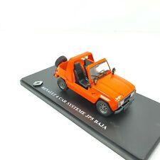 1/43RENAULT 4 R4 KIT CAR SYSTÉME JP5 BAJA HACHETTE 1983