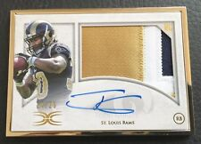 #14/25 Todd Gurley 2015 Topps Definitive Framed Auto Patch RC #FRAP-TG