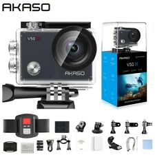 AKASO V50X WiFi Action Camera Native 4K30fps Sport Camera with EIS Touch Screen