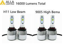 Alla Lighting LED High Low Beam Headlight Bulb Light Kit for SCION, Xenon White