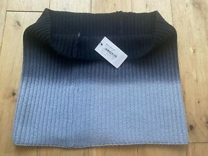 Paul Smith Ladies Shades of Grey Snood Wool & Cashmere