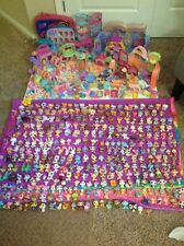 Huge Littlest Pet Shop 300+ Retired Animals Play Sets & Accessories LPS
