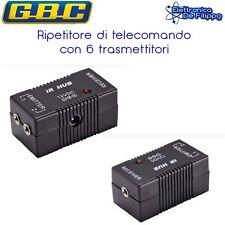 RIPETITORE DI TELECOMANDO IR CON 6 TRASMETTITORI PER DECODER HD BLU-RAY SKY DVB