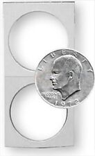 100 Flips BCW Paper Flips 2X2 - (Sliver) Dollar - Bulk  (#821)
