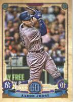 2019 Topps Gypsy Queen Baseball #300 Aaron Judge New York Yankees