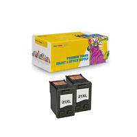 2PK Compatible C9351A XL Black Ink Cartridge for HP 21 Deskjet 3930 3940