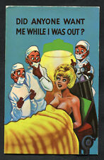 Dated 1974 Comic: Lady & Doctors: Did Anyone Want Me While I Was Out?
