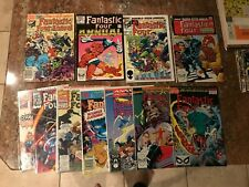 FANTASTIC FOUR ANNUAL 15 16 17 18 18 21 22 23 24 25 26 99 00 + FOES 1-6 NM MINT